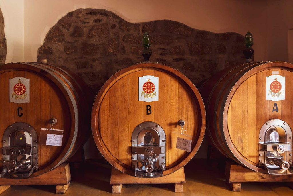 Sardinian wines   Murales cellar